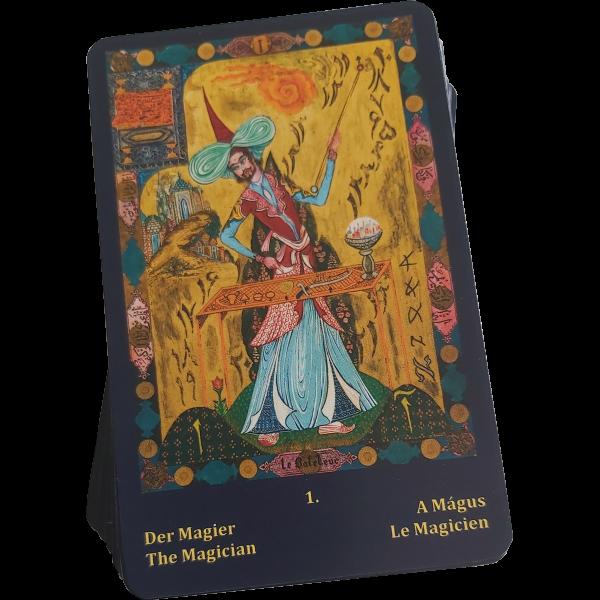 A Mágus kártya a pakli tetején